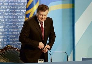Пресса: Янукович не спешит подписывать  список Фюле