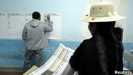 Избиратели в Боливии портили бюллетени в знак протеста