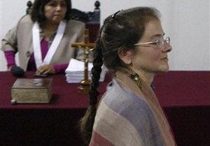 В Перу освободили американку, осужденную за терроризм