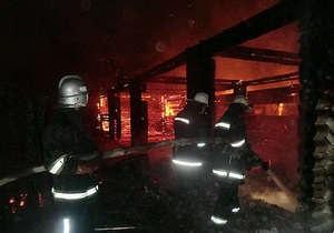 В Севастополе сгорел ресторан соперника регионала на выборах в Раду