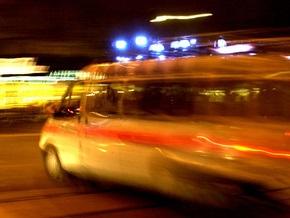 В Крыму пассажирский автобус сбил насмерть пешехода, а потом перевернулся