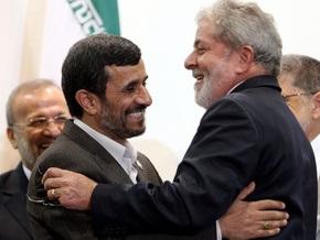 Президент Бразилии заявил, что признает право Ирана развивать ядерную программу