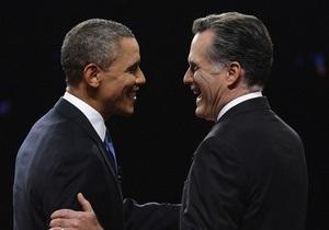 Первые дебаты Обамы и Ромни посмотрели около 50-ти млн американцев