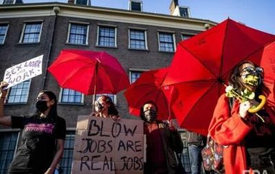 В Бельгии вышли на протест работники секс-услуг