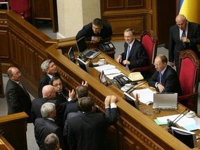 Парламент принял антикризисный закон Ющенко