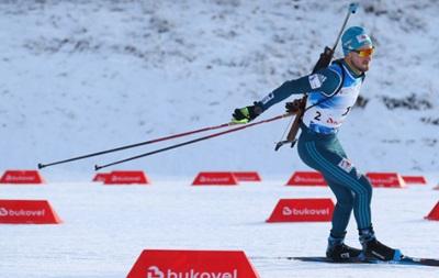 Лесюк впервые в карьере попал в цветочную церемонию на этапе Кубка IBU