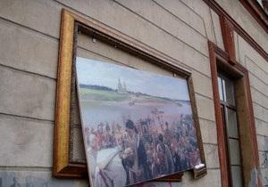 В Санкт-Петербурге вандалы разгромили выставку Русского музея