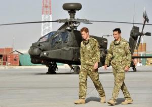 Талибы напали на базу с принцем Гарри из-за фильма