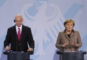 Меркель: Греция не будет выходить из ЕС