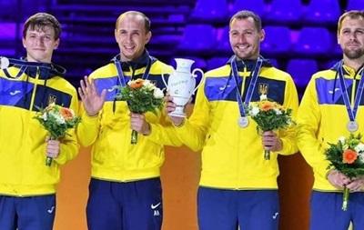 Українські шпажисти завоювали срібло на етапі Кубка світу в Росії