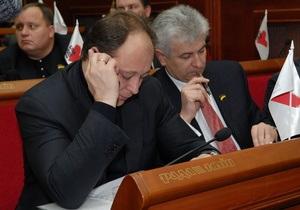 БЮТ призывает нового заместителя Черновецкого отказаться от должности