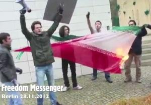 Группа активистов напала на посольство Ирана в Берлине