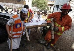 Новости Пакистана - взрыв: В Пакистане в автобусе, перевозившем школьников, взорвался газовый баллон. Погибли 15 детей