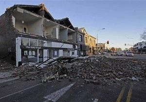 Сильное землетрясение произошло в Новой Зеландии (обновлено)