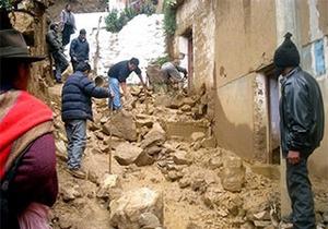 Жертвами оползней в Перу стали 20 человек