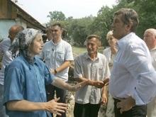 Ющенко отказался от зарплаты за август в пользу жертв наводнения