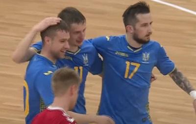 Украина разгромила Данию в отборе на Евро-2020 по футзалу