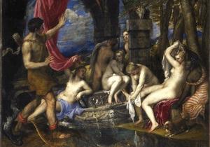 Лондонская галерея приглашает подглядеть за купанием живых богинь