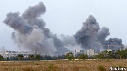 Ливия: сторонников Каддафи пытаются выбить из Сирта