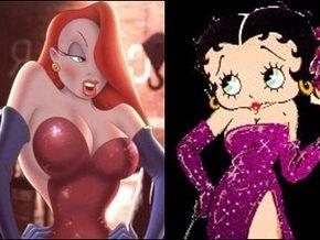Сексуальные героини мультфильма