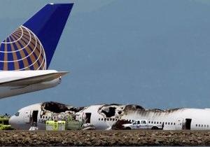 США - Boeing 777 - Пилот потерпевшего крушение Boeing 777 налетал на нем всего 43 часа и первый раз сажал самолет в Сан-Франциско