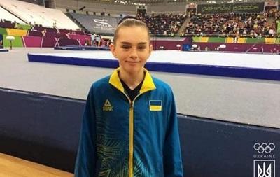 Украинские гимнастки вышли в два финала на чемпионате Европы