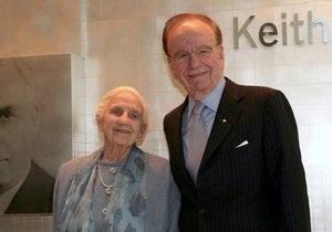 Мать медиамагната Мердока скончалась в Австралии в возрасте 103 лет
