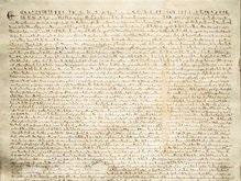 С молотка ушла Великая хартия вольностей 1297 года