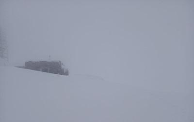 У Карпатах посилився мороз на тлі снігопаду
