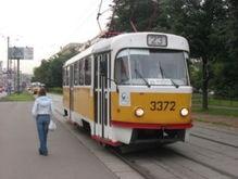 На западе Москвы троллейбусы и трамваи были обесточены на час