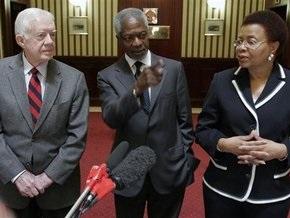 Власти Зимбабве пытаются оправдаться за отказ в визах Картеру и Аннану