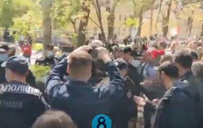В Одессе произошла массовая драка из-за символики