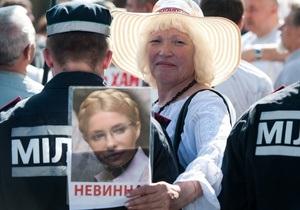 Тетя Тимошенко заявила об ухудшении здоровья матери экс-премьера
