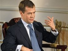 Астана: Медведев поговорил с Саакашвили о Абхазии и Южной Осетии