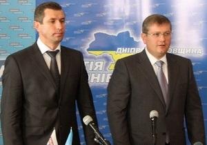 Днепропетровская облорганизация Сильной Украины присоединилась к Партии регионов