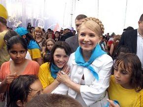 Тимошенко призвала детей верить в сказку