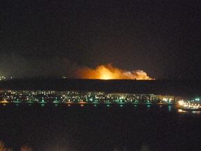 ФСБ: Пожар на складах в Ульяновске начался в ходе утилизации боеприпасов