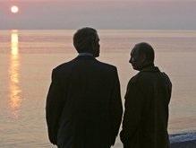 Фотогалерея: Путин и Буш: В последний раз