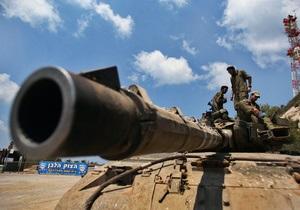 Израиль заявил о готовности воевать с Ливаном