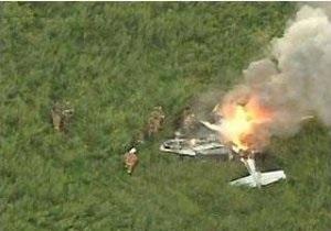 В Мексике разбился самолет с высокопоставленными чиновниками на борту
