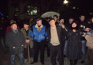 Вопреки решению суда в Ялте состоялось факельное шествие в честь Сталина