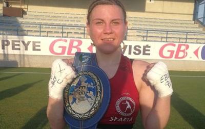 Украинка Медведенко стала чемпионкой Европы по боксу среди профи