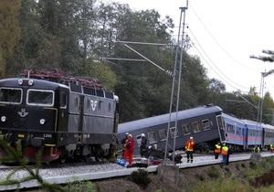 В Норвегии пассажирский поезд сошел с рельсов: 40 пострадавших