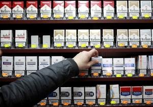 Украина запрещает рекламу табачных изделий