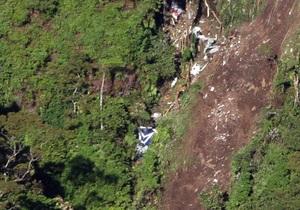 Российские спасатели приступили к поискам в районе крушения SSJ-100