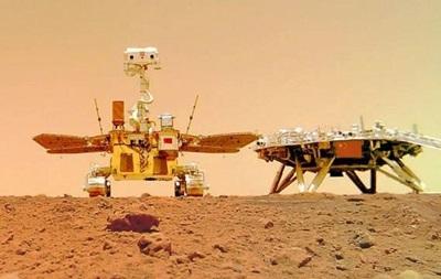 З явилися відео китайського марсохода на Марсі