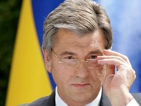 Ющенко принял участие в освящении крестов для казацкой церкви