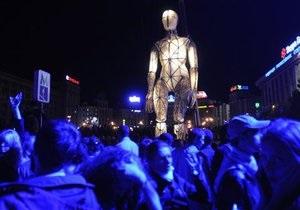 ГогольFest открылся масштабным шоу на Майдане Незалежности