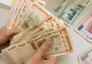 Белорусы скупают валюту в обменниках подобно украинцам
