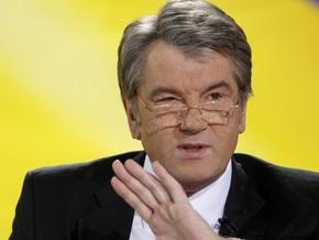 Ющенко отказался от общения с прессой